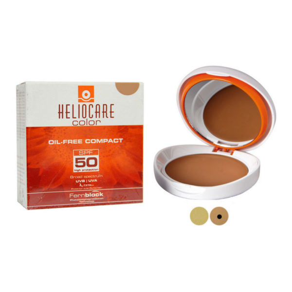 Heliocare Compact Oil Free SPF 50 (Brown)